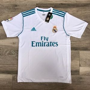 Real Madrid 2017/2018 Home Jersey Men